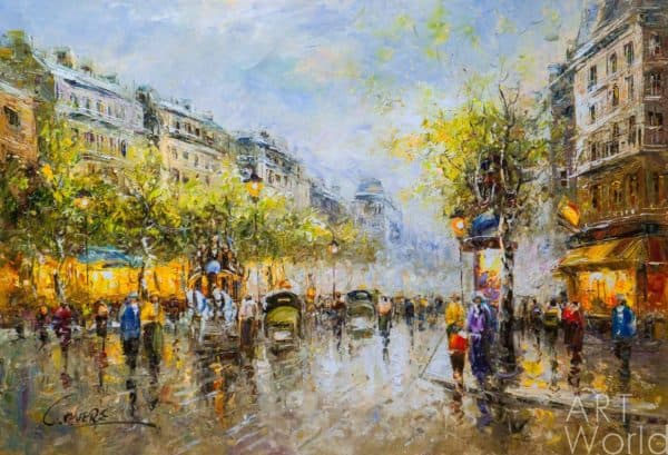 """Под небом Парижа"". Ноты для гармони хромки."