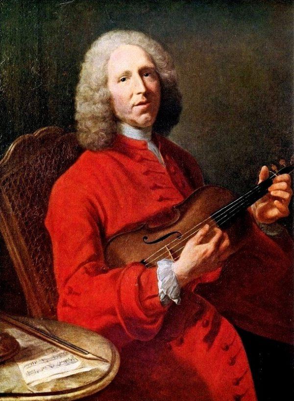 """""""Rigaudon"""" Jean-Philippe Rameau (1683-1764). Ригодон (Ж.Ф. Рамо). Ноты для гармони хромки."""